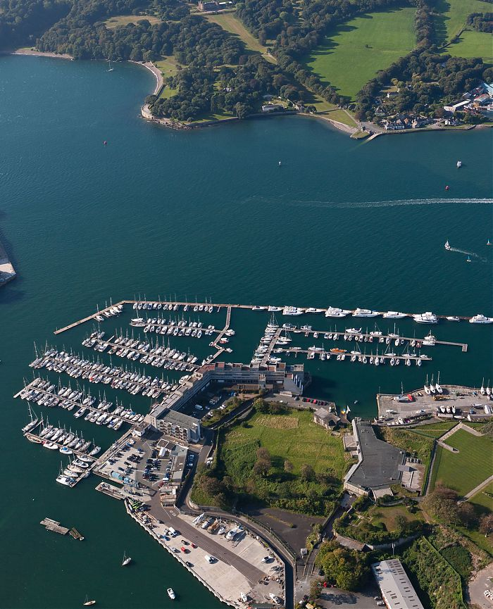 Award-winning marina plymouth